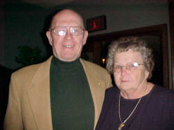 Past President Lewis Slocum & wife Carol - Member since 2/14/1984