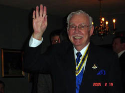 Past President Clyde W. Childs - Joined SAR 11/26/1980