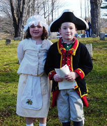 Cassie & Andrew in period dress - Photo by Duane Booth